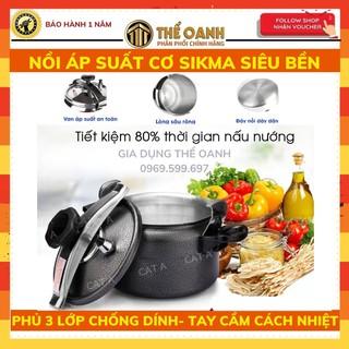NỒI ÁP SUẤT SIKMA - Nồi áp suất bếp gas an toàn, dễ sử dụng thumbnail