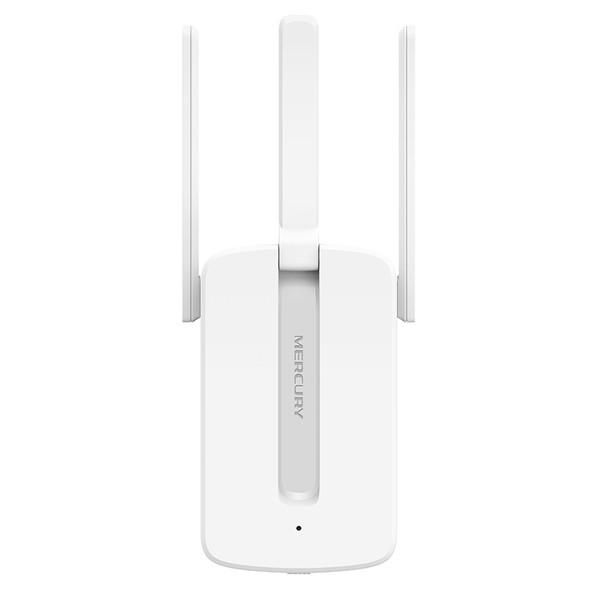 Kích sóng Wifi Mercury Repeater MW310RE 3 Anten - Version 2017 (Trắng)