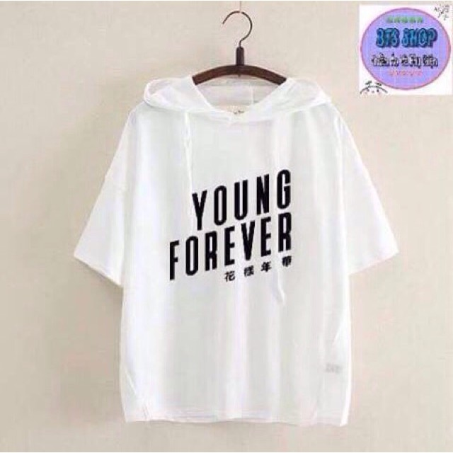 Áo hoodie BTS album Young Forever