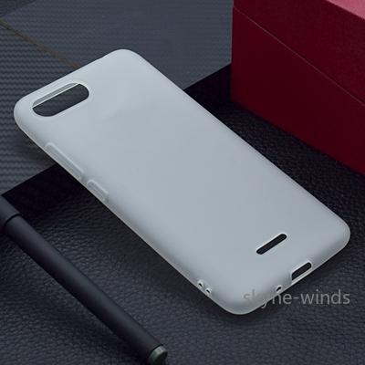 Solid color High Quality Case Xiaomi Redmi6A Redmi 6 A Soft Silicon TPU Back Cover Xiaomi Redmi 6 A A6 5.45 fashion case