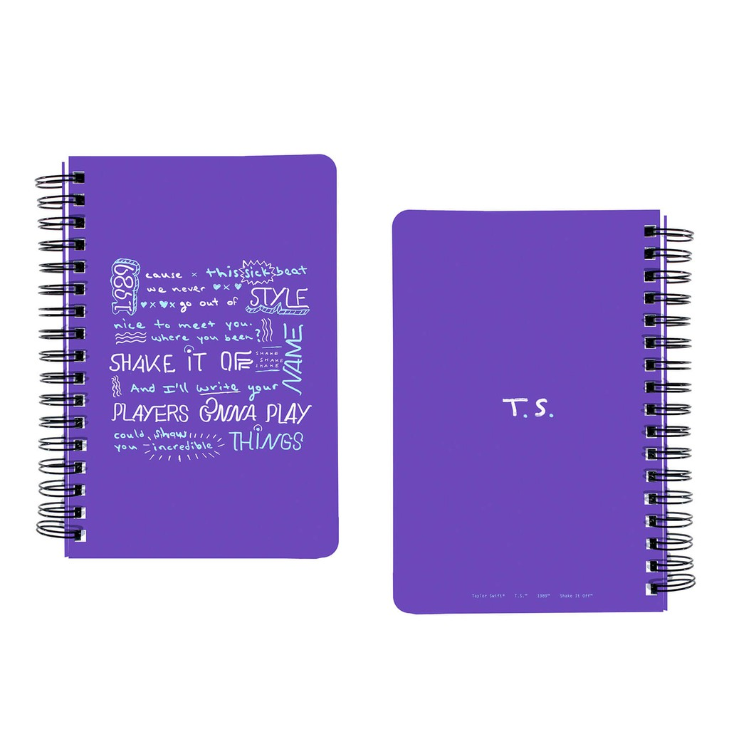 Taylor Swift - Quyển Tập Shake It Off T.S. 1989 Song Lyrics Spiral Notebook - 3585975 , 1241925652 , 322_1241925652 , 390000 , Taylor-Swift-Quyen-Tap-Shake-It-Off-T.S.-1989-Song-Lyrics-Spiral-Notebook-322_1241925652 , shopee.vn , Taylor Swift - Quyển Tập Shake It Off T.S. 1989 Song Lyrics Spiral Notebook
