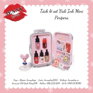 TÁCH SET SET SON MINI VALI INK PERIPERA MINI SUITCASE COLLECTION thumbnail