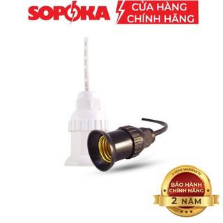 [Mã SRJULY1215 giảm 20K đơn 50K] Đuôi đèn chịu mưa SOPOKA ĐCM-3,4 chống thấm, an toàn thumbnail