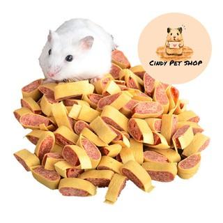 Thịt bò sấy khô lát nhỏ cho Hamter, Sóc Bông, Sóc Bay, Sóc Đất, Dumbo Rat, Chinchilla... thumbnail