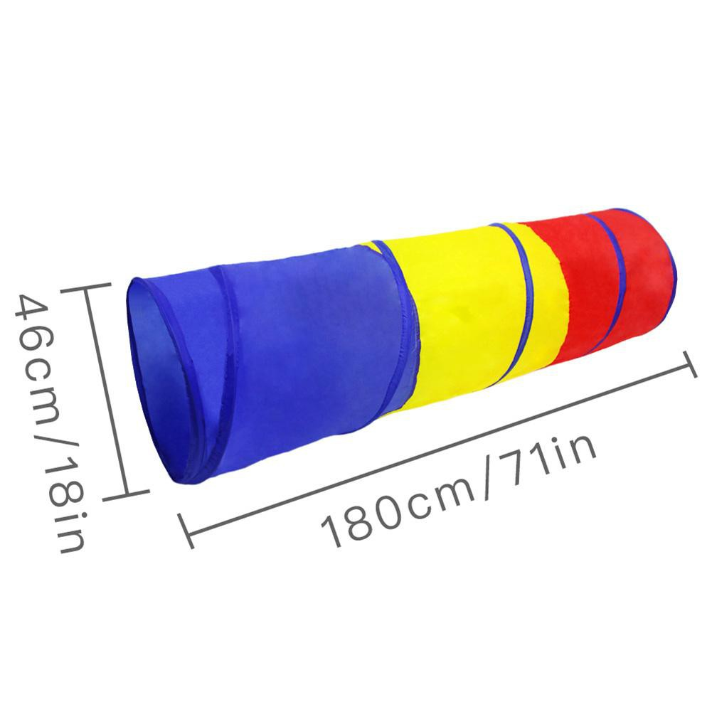 Ống đường hầm đồ chơi di động cho trẻ 46 X 180cm