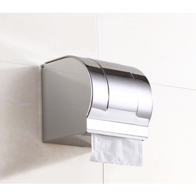 Lô giấy vệ sinh inox