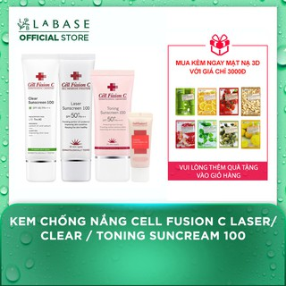 Kem chống nắng Cell Fusion C Clear Sunscreen thumbnail