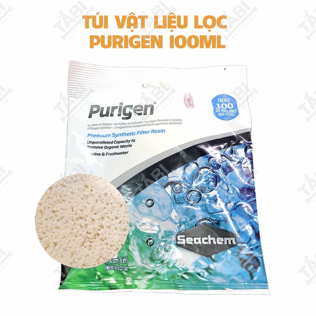 Vật Liệu Lọc Purigen Seachem Túi 100ML Khử Độc, Làm Trong Nước Hồ Cá. [PURIGEN SEACHEM]
