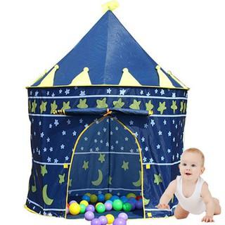 Lều công chúa hoàng tử cho bé yêu - lều chơi nhà chòi cổ tích không kèm bóng