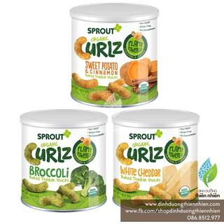 Bánh Ăn Dặm Hữu Cơ Sprout Organic Curlz, 42g thumbnail