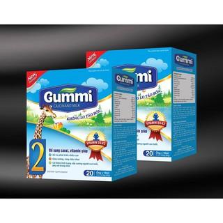 Gummi Calcinono Milk - Không gây táo bón - Hộp 20 ống x 10ml - Hàng đủ giấy tờ chứng nhận thumbnail
