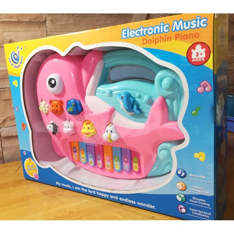 đồ chơi âm nhạc- đồ chơi trẻ em- đồ chơi đàn cá heo
