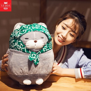 [KÈM VIDEO] Gấu Bông Cao Cấp Mèo AMUSE Nhật – Mèo Thần Tài chính hãng Bobby Bear Quà Tặng Cho Bé