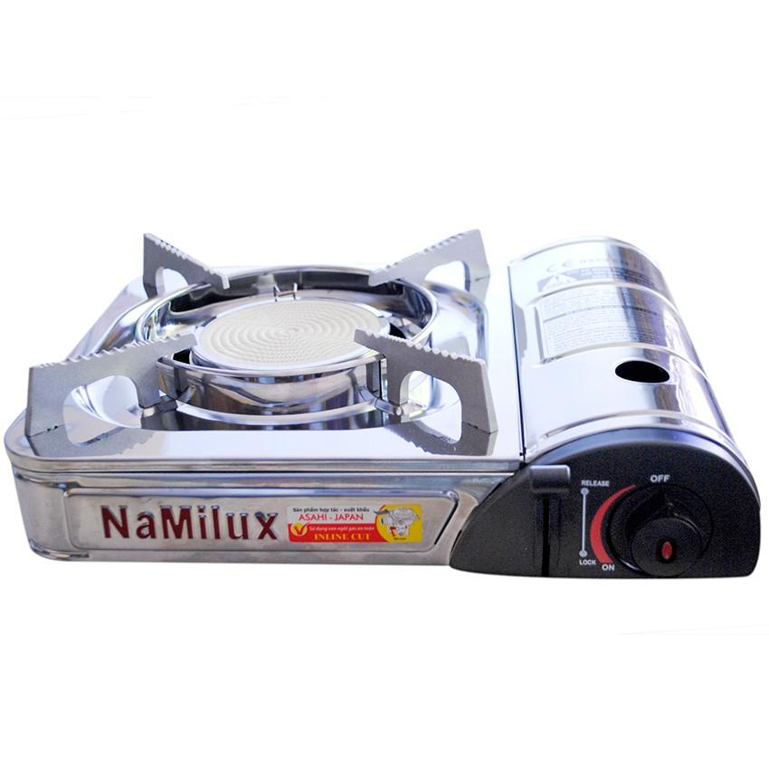 Bếp gas 1 lò hồng ngoại Namilux NA-164SS (Bạc)