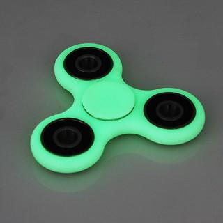 Fluorescence Night Light Hand Spinner Tri Fidget Ceramic EDC Stocking Stuffer 1x