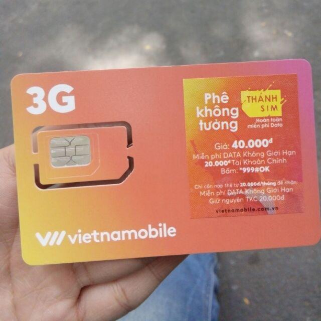 50 thánh sim vietnamobile 11s tặng 120gb 3g tốc độ cao hàng tháng