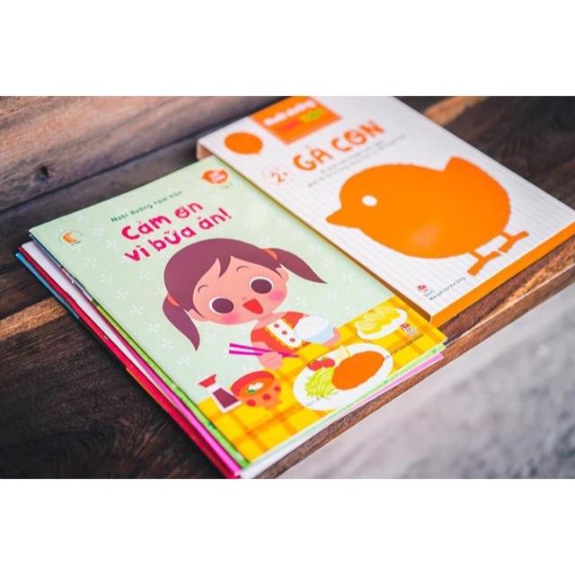 [Sách Thật] Bộ Sách Nuôi Dưỡng Tâm Hồn - Gà Con/Gấu Con/Thỏ Con/Cún Con/Mèo Con
