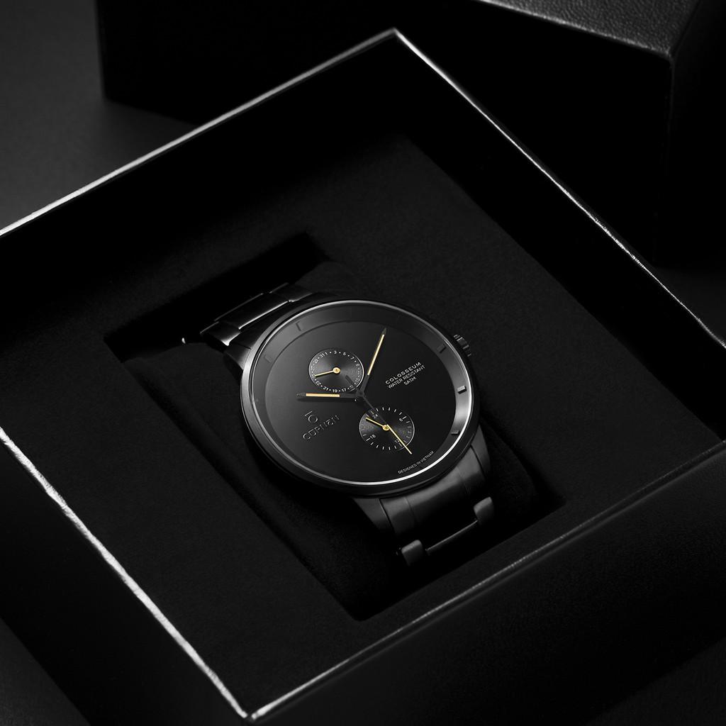 [Mã FARSBR153 giảm 15% đơn 150K] Đồng hồ nam Curnon Colosseum Nova mặt kính Sapphire - Hàng chính hãng
