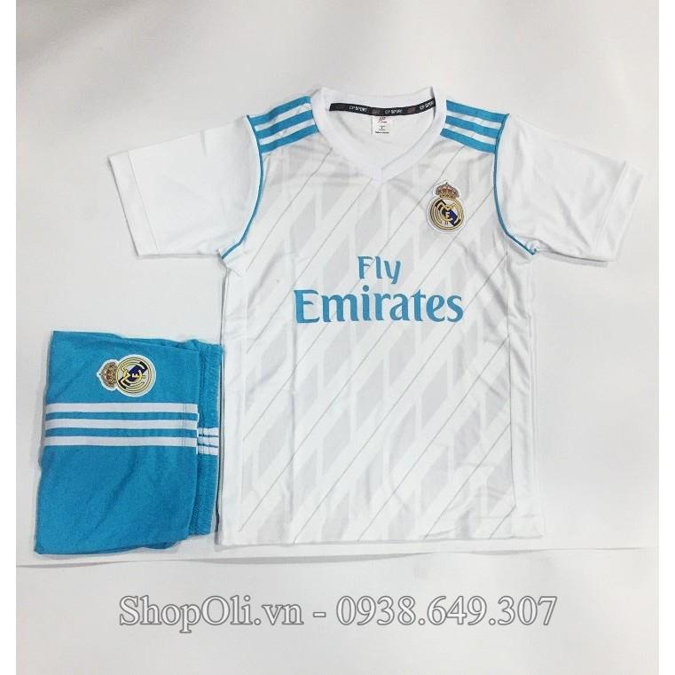 Quần áo đá banh trẻ em Real Madrid trắng sân nhà 2017 - 10014246 , 342695893 , 322_342695893 , 80000 , Quan-ao-da-banh-tre-em-Real-Madrid-trang-san-nha-2017-322_342695893 , shopee.vn , Quần áo đá banh trẻ em Real Madrid trắng sân nhà 2017