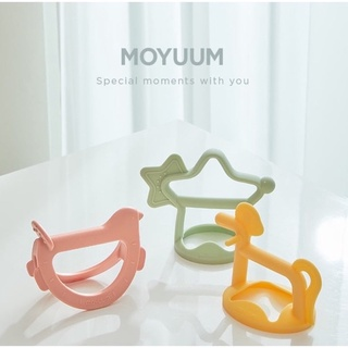 Gặm Nướu Moyuum Hàn Quốc cho bé [ 100% CHÍNH HÃNG ] + Bảo Hành 6 Tháng - Đồ Gặm Nướu Cho Bé Silicon An Toàn Sức Kh thumbnail
