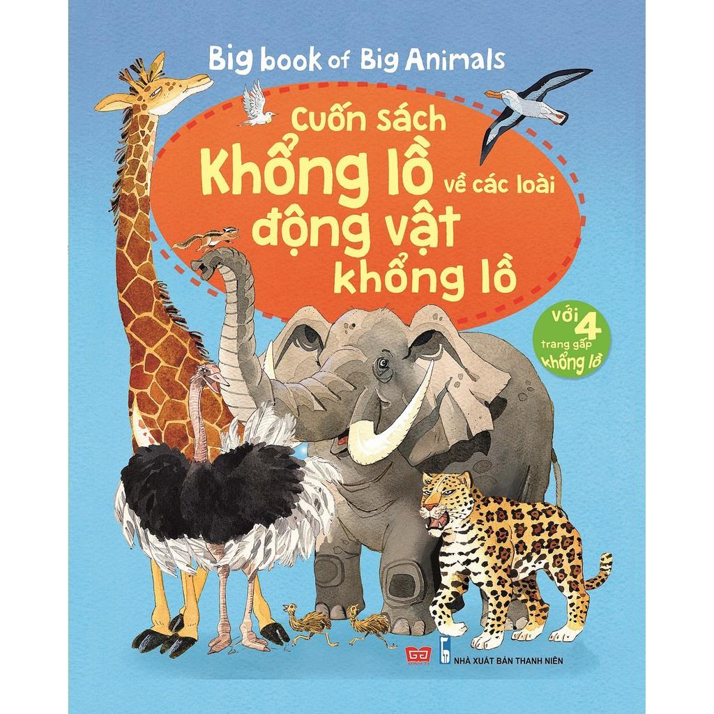 Sách - Big Book về các loại động vật khổng lồ