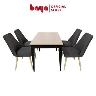 Bộ bàn ăn 4 ghế PHILLIP 6000201