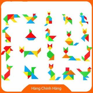 [Hỗ trợ giá] Đồ chơi ghép trí uẩn tangram size lớn cho bé