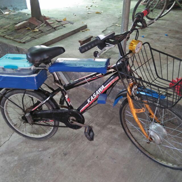 Xe đạp điện chế