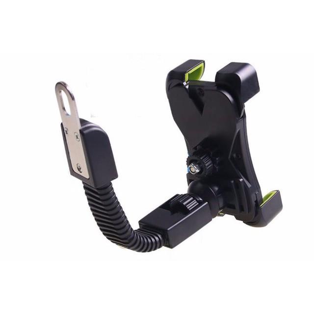 Kẹp điện thoại trên xe máy, giá để ĐT trên xe đạp điện gắn ốc gương cho xe ôm xem bản đồ Map