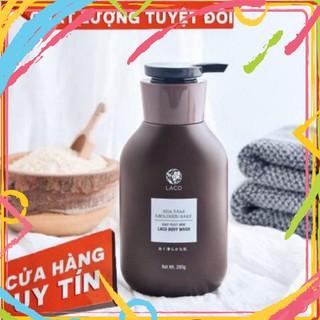 Sữa tắm men rượu sake LACO ♥ dưỡng trắng♥ an toàn ♥ngừa mụn lưng♥ dưỡng ẩm siêu tốt ♥ thơm lúa non say đắm HÀNG CÓ SẴN