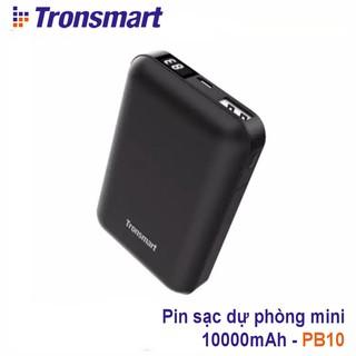 ✪ CHÍNH HÃNG ✪ Pin sạc dự phòng mini cỡ nhỏ 10000mAh với màn hình LED kỹ thuật số Tronsmart PB10 TM-341985 TM-365709