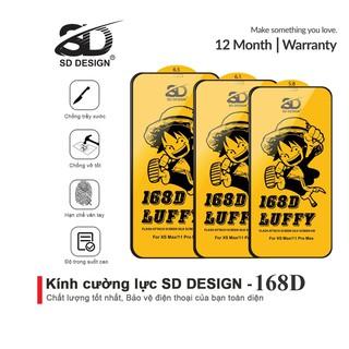 Kính cường lực iPhone 168D Full Màn SD DESIGN ip 6 6s plus 7 8 7plus 8plus x xr xs max 11 11 pro 11 promax 12 12 promax thumbnail