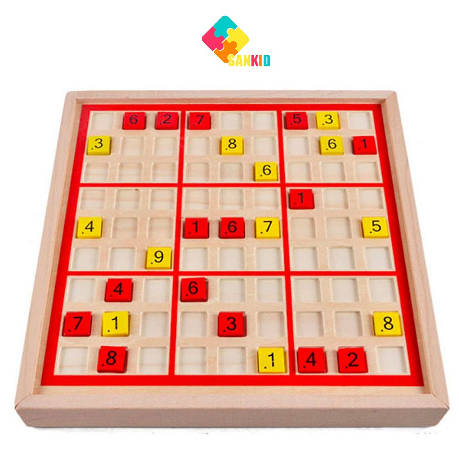 Bộ trò chơi Sudoku và cờ Caro 2 in 1