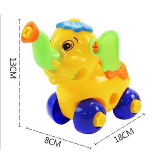 Đồ chơi lắp ráp con vật cho bé – Đồ chơi phát triển trí thông minh