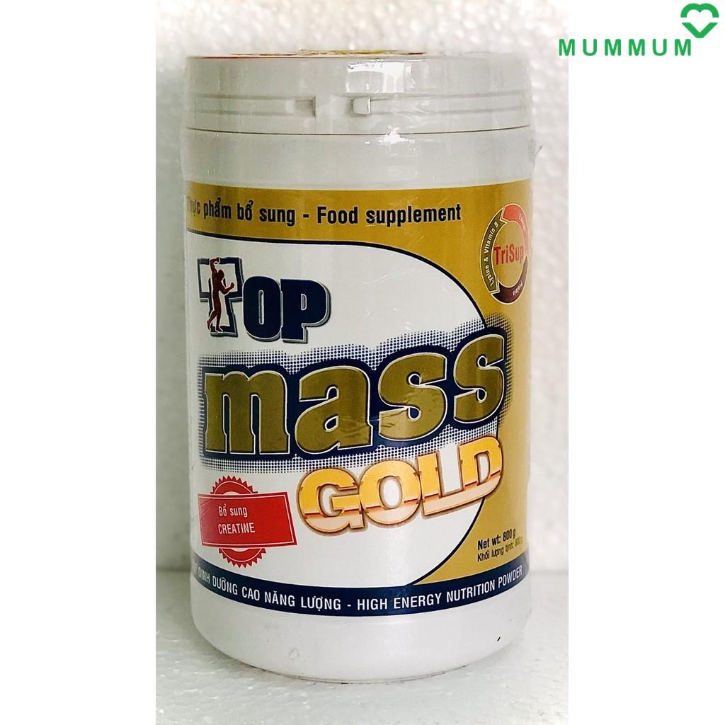 Sữa bột Top Mass Gold vị vani 800g tăng cân