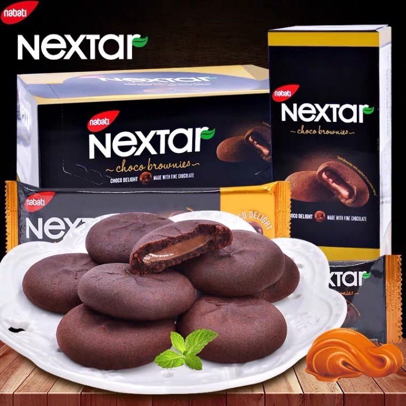 Bánh Chocolate Nabati Nextar siêu ngon hộp 112g