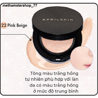 Phấn Nước April Skin Magic Snow Cushion SPF50+ PA+++ 15g [New] thumbnail