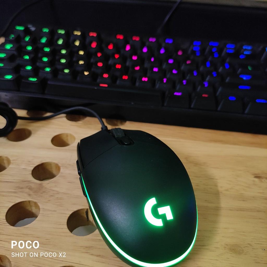 [Mã 267ELSALE hoàn 7% đơn 300K] Chuột game Logitech G102 (G103) Prodigy RGB LED-8.000 dpi