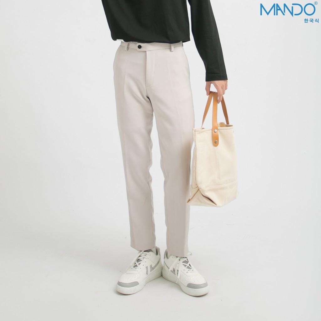 Mặc gì đẹp: Sang trọng với Quần Tây Âu Nam MANDO Công Sở  Dáng Ôm  Ong Côn Phong Cách Hàn Quốc            QKN020