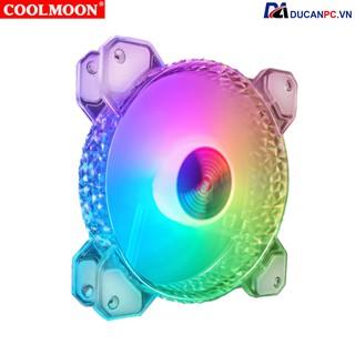 Quạt Tản Nhiệt, Fan Case Led RGB Coolmoon D1 - Đồng Bộ Hub Coolmoon thumbnail
