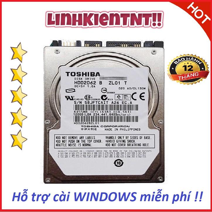 Ổ cứng HDD Laptop 500gb 320gb 250gb 160gb 120gb bảo hành 12 tháng Giá chỉ 199.000₫