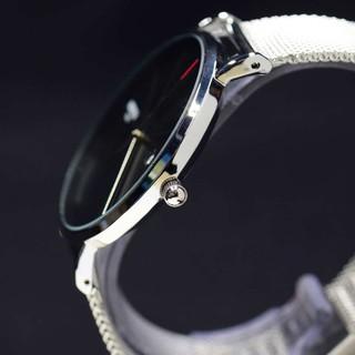 Đồng hồ Nam NIBOSI 2321 dây mành màu đen cực chất
