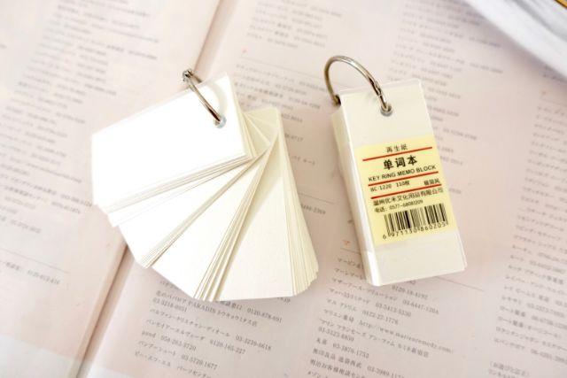 สมุดจดศัพท์ flashcard basic style