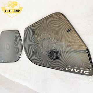 Ốp màng loa cho xe HONDA CIVIC chất liệu thép mạ TITAN, bảo vệ khu vực loa sạch sẽ không bụi bặm AUTO CNP thumbnail