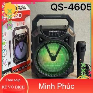 Loa karaoke bluetooth kimiso QS-4605 tặng kèm míc-Hàng Chính Hãng