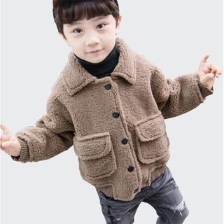 [Mã SHOPVKIDS giảm 10% đơn 99K] Áo khoác da lộn chữ jeansmth VEMZKIDS cho bé trai
