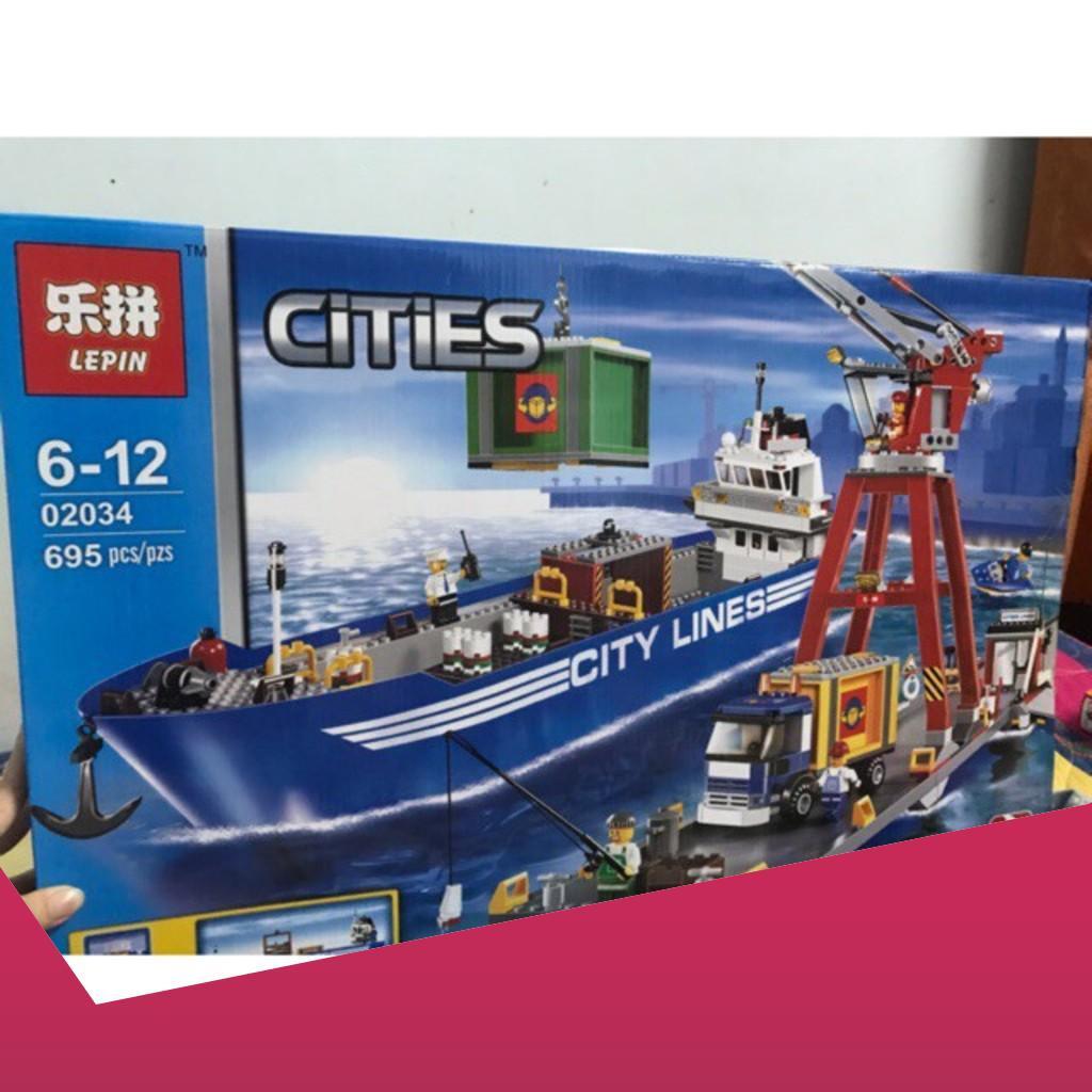 [Rẻ Sập Giá] Lego City Urban 02034- 695 miếng