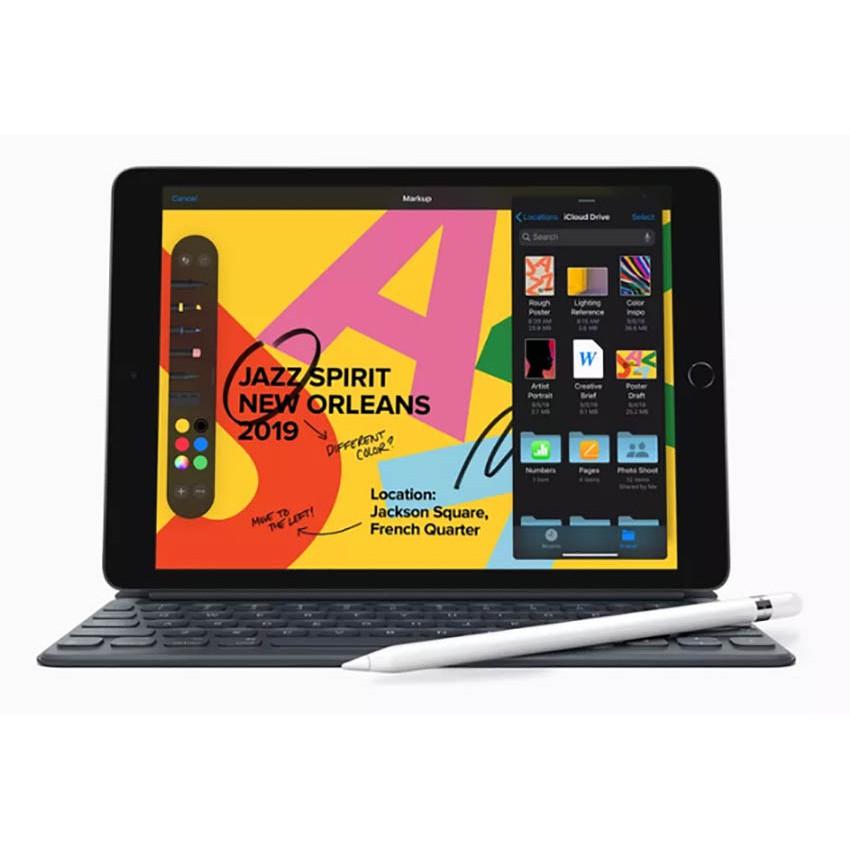 [Mã ELAPPLE6 giảm 6% đơn 15TR] Máy tính bảngiPad 10.2 Inch WiFi 32GB New 2019 - Hàng Chính Hãng