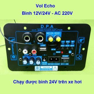 Mạch loa kéo công suất 100W-120W Bluetooth Karaoke Loa kéo 2.5 - 3 tấc XD