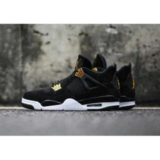 (ẢNH THẬT+VIDEO) giầy sneaker Air Jordan 4 đen vàng